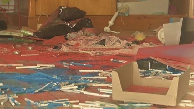 MELUN école maternelle saccagée vandalisme