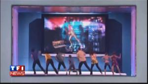 """Microsoft présente son système """"Kinect"""" à Los Angeles"""