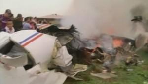 Crash d'avion en Bolivie