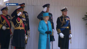 Défilé militaire pour le jubilé de la reine d'Angleterre : les images