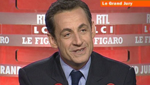 Election présidentielle/TF1-LCI : Nicolas Sarkozy, au Grand Jury le 1er avril 2007