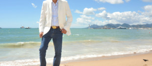 L&amp;#039;acteur Samy Nacery  Cannes le 19 mai 2013 pour le film &amp;quot;Tip Top&amp;quot;