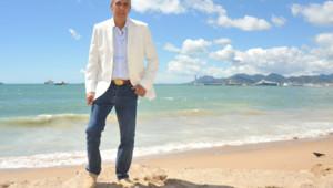 """L'acteur Samy Nacery à Cannes le 19 mai 2013 pour le film """"Tip Top"""""""