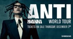 Affiche de la tournée mondiale de Rihanna