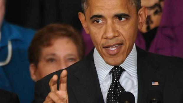 Barack Obama à la Maison Blanche, le 9 novembre 2012.