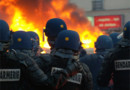 CRS manifestations photo Hugues Leglise