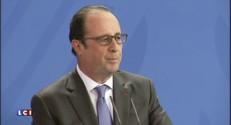 """Hollande : """"J'ai deux priorités, le soutien à l'investissement et la justice sociale"""""""