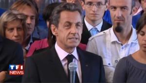 Nicolas Sarkozy le 6 août 2011