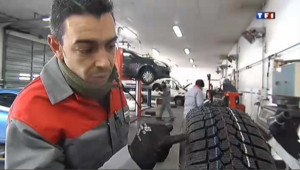Ruée sur les pneus neige