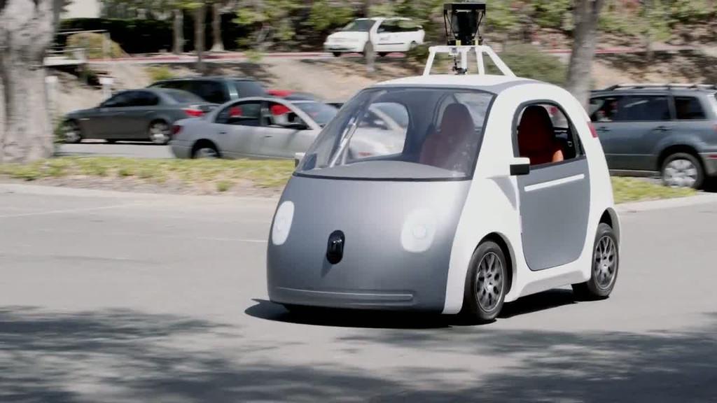 vid o automoto voiture autonome google les premiers. Black Bedroom Furniture Sets. Home Design Ideas