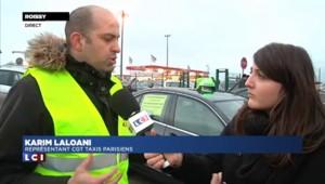 """Grève des taxis : """"La situation est critique"""""""