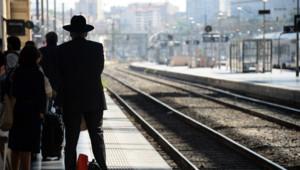 grève sncf rail rails quai quais transports retard
