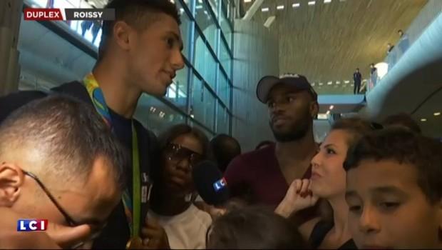 """JO de Rio : """"Un truc de fou"""", la joie immense de Tony Yoka de retour à Paris"""