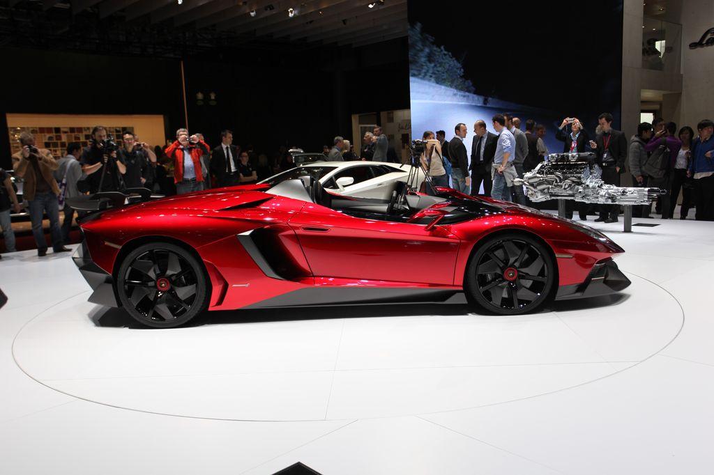 2009 Lamborghini Aventador J Concept Car Pictures