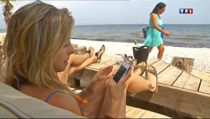 Le 20 heures du 16 juillet 2013 : Connect�usque sur la plage - 1631.368260864258