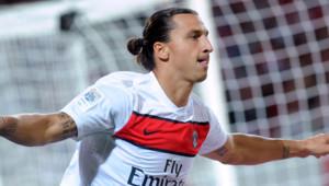 Le joueur du PSG Zlatan Ibrahimovic, en septembre 2012