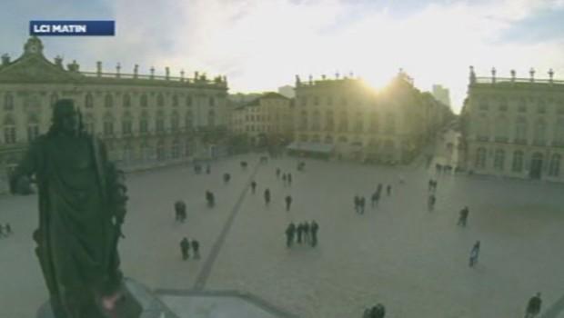 Les images de la ville de Nancy tournées par un drone