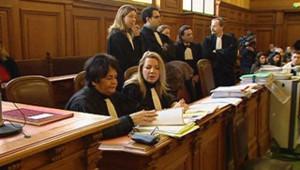 TF1/LCI : procès de Dylan : la salle d'audience et les débats de mercredi