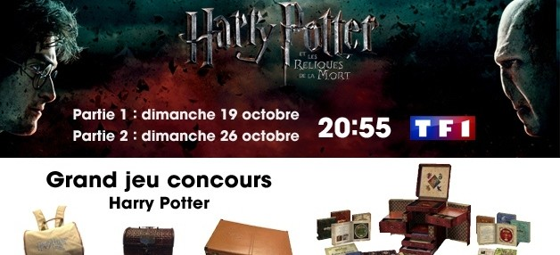 Grand jeu concours Harry Potter...