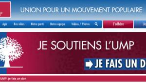 L'appel au don sur le site de l'UMP. 4 juillet 2013.