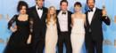 L'équipe du film Les Misérables aux Golden Globes 2013