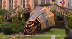 Le 20 heures du 1 septembre 2015 : Toits détruits, arbres arrachés… Montauban frappé par de violents orages - 738