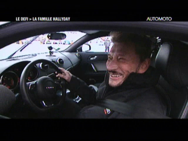 vid o automoto tf1 en vid o automoto le d fi hallyday mytf1. Black Bedroom Furniture Sets. Home Design Ideas