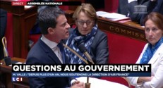 """Air France : Manuel Valls refuse l'expression du mot """"chienlit"""" employée par Nicolas Sarkozy"""