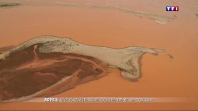 Coulée de boue toxique au Brésil : une pollution spectaculaire et sans précédent