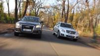 Photo 31 : Comparatif Audi Q5 3.0 TDI/Mercedes GLK 320 CDI : Prime à la classe