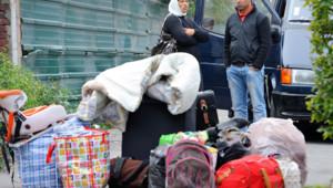 Un campement, abritant jusqu'à 250 Roms, a été démantelé vendredi dans le centre-ville de Roubaix (Nord).