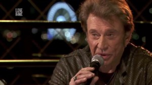 Johnny Hallyday - Live @home
