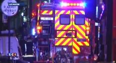 150 pompiers mobilisés pour un incendie à Paris, deux blessés graves
