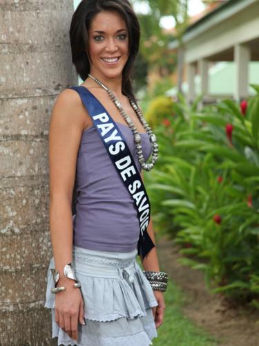Miss Pays de Savoie 2009 - Tiare Edwige : candidate Miss France 2010