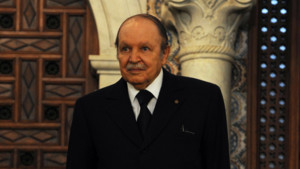 Abdelaziz Bouteflika, le 15/4/13