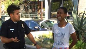 Daniele Watts de Django Unchained menottée par la police alors qu'elle se promenait dans la rue avec son compagnon