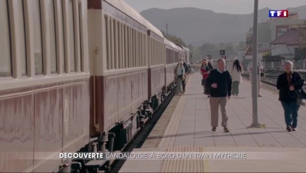 Découvrir l'Andalousie à bord du mythique train El Andalus