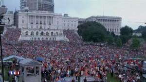 Etats-Unis : show haut en couleur à Washington pour la fête nationale