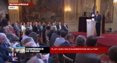 """François Hollande : il n'y aura """"pas d'augmentation de la TVA"""""""