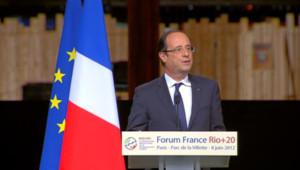 François Hollande le 8 jui 2012 à Paris.