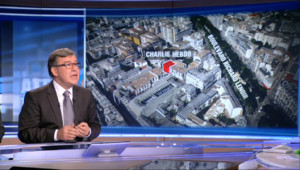 """Le 20 heures du 7 janvier 2015 : Pierre Baretti : l'attentat contre Charlie Hebdo, """"un mélange de professionnalisme et d'amateurisme"""" - 3131.441"""