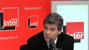 """Montebourg : """"Nous partageons avec Valls le fait d'être eurocritiques"""""""