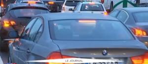 Place de la Nation, troisième jour de mobilisation des chauffeurs VTC