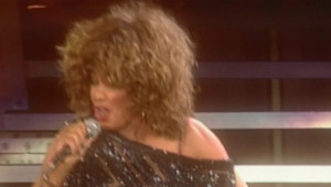 Tina Turner en concert à Paris