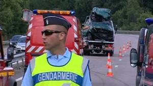 Accident de la route à Limoges