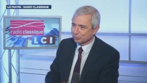 Claude Bartolone, président de l'Assemblée nationale et député PS sur LCI