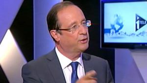François Hollande, invité de Christophe Barbier mardi 10 avril sur i-Télé