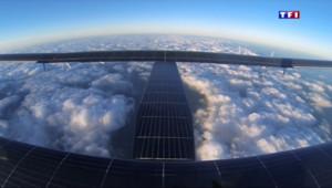 Le 13 heures du 31 mai 2015 : Le Solar Impulse a décollé pour sa longue traversée du Pacifique - 553