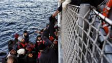 Migrants recueillis au large de la Grèce, 20/2/16