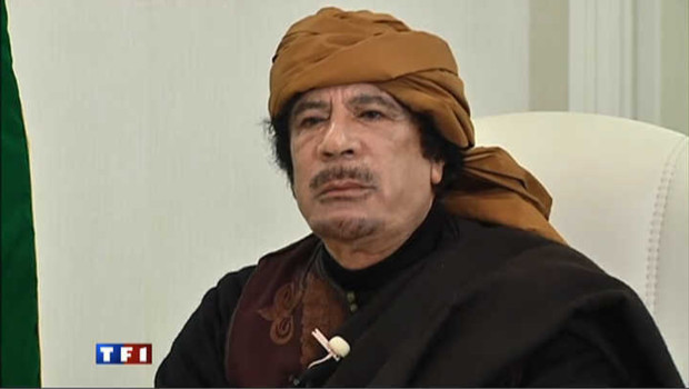 colonel Kadhafi 